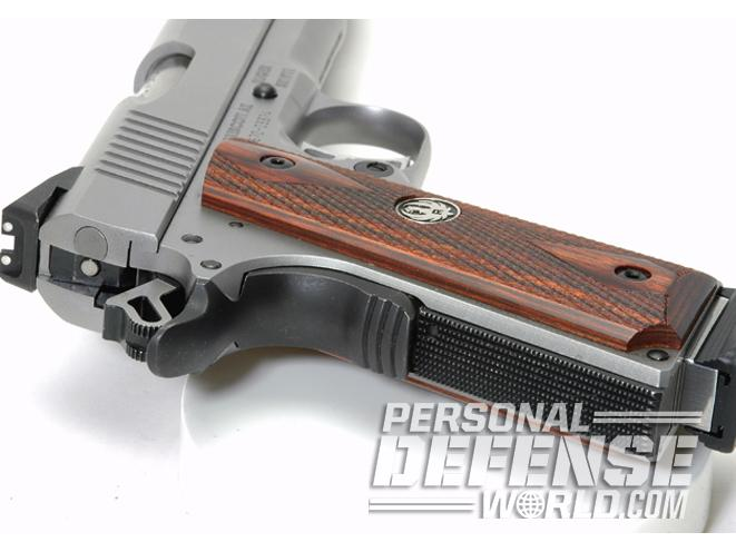 Ruger SR1911 Commander, ruger, ruger SR1911, SR1911CMD, RUGER SR1911CMD reshaped grip safety flat housing