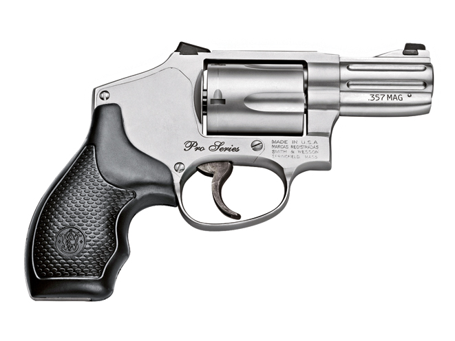 smith wesson pro series, revolver, revolvers, concealed carry handguns, concealed carry handguns buyer's guide, concealed carry revolver, concealed carry revolvers
