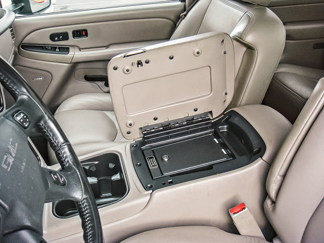 9 Vehicle Based Gun Safes And Holster Mounts