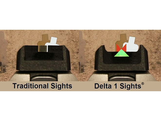 Gun Pro Delta 1 Sights, delta 1 sights, gun pro, gun pro sights, gun pro delta 1 sight, traditional gun sight