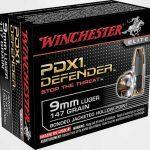 self-defense ammo, self-defense ammunition, ammo, ammunition, winchester pdx1 defender
