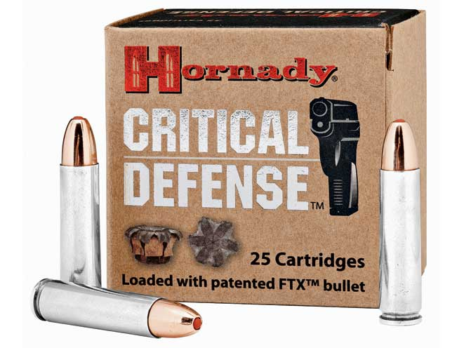 self-defense ammo, self-defense ammunition, ammo, ammunition, hornady critical defense