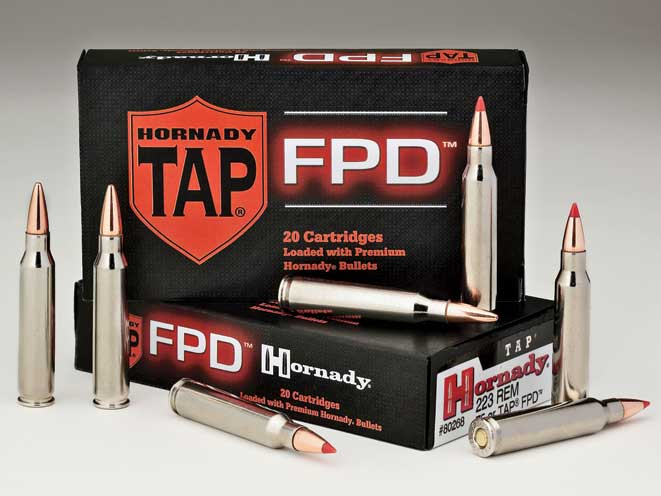 self-defense ammo, self-defense ammunition, ammo, ammunition, hornady TAP FPD