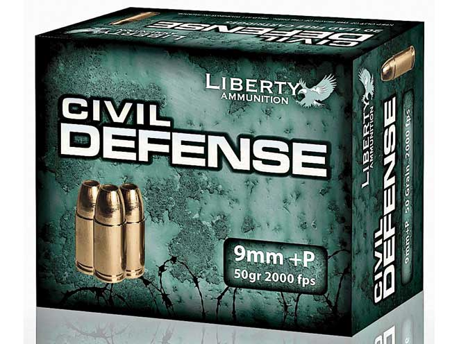 self-defense ammo, self-defense ammunition, ammo, ammunition, liberty ammunition civil defense