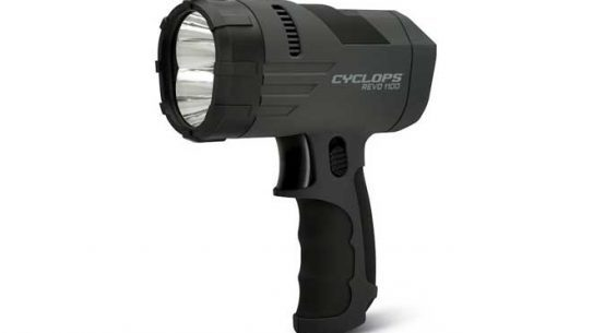 Cyclops REVO 1100 Lumen Hand Held Rechargeable Spotlight, Cyclops REVO 1100, REVO 1100