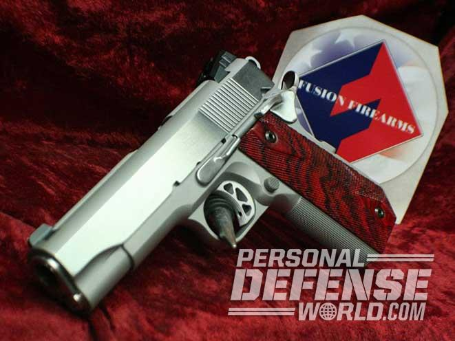 1911, 1911 pistol, 1911 pistols, 1911 gun, 1911 guns, Fusion Firearms 1911
