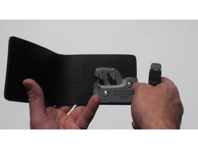 kevin's concealment holsters, kevin's concealment, kevin's concealment wallet holster, wallet holster, kevin's concealment wallet holster draw
