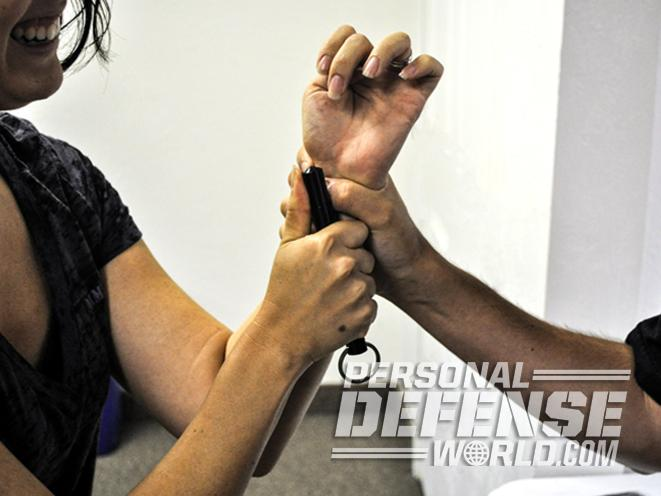 The Kubotan, kubotan, kubotan self-defense, self-defense weapon, kubotan wrist grab