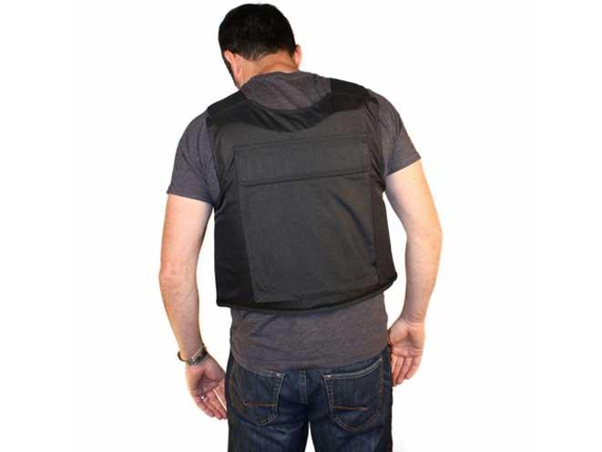 BulletSafe Bulletproof Vest, bulletsafe, bulletsafe vest, bulletproof vest, bulletsafe back
