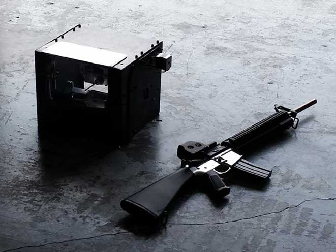 Defense Distributed Ghost Gunner, defense distributed, 3D-printed gun, 3D-printing