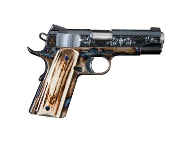 turnbull, 1911, turnbull bbq, turnbull bbq pistols, bbq commander heritage model 1911