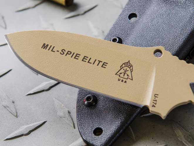 TOPS Knives Mil-SPIE Elite, Mil-SPIE Elite, Mil-SPIE Elite knife, Mil-SPIE Elite knives