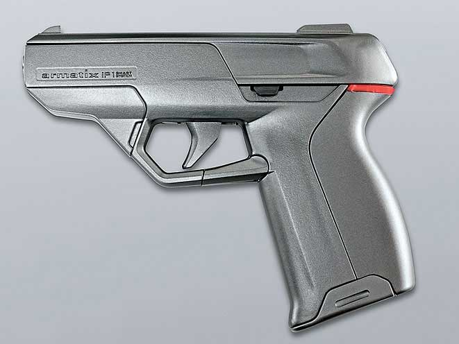 smart gun, smart guns, smart gun technology, smart guns technology, Armatix iP1 pistol, Armatix iP1