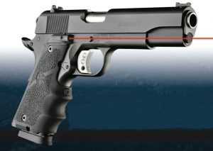 hogue, 1911, hogue 1911, laser enhanced grip, hogue laser enhanced grip