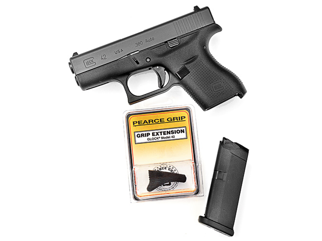 combat handguns, combat handguns august 2015, combat handguns new products, pearce grips g42