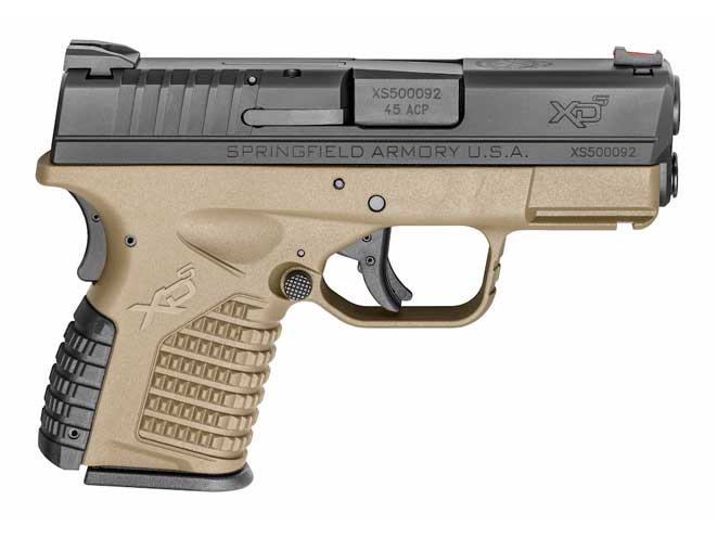 springfield armory, springfield armory flat dark earth, flat dark earth, m1a rifle, loaded m1a, xd-s pistol, xd-s 3.3