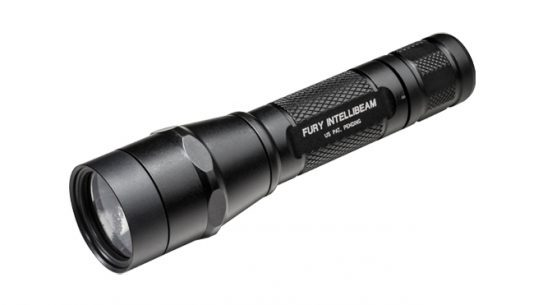 surefire, P2X Fury, P2X Fury flashlight, P2X Fury intellibeam, surefire P2X Fury flashlight