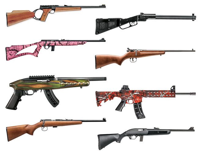 COMPLETE BOOK OF RIMFIRES: 20 Youth Rimfire Rifles