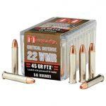 .22 WMR, .22 magnum, .22 WMR load, hornady critical defense