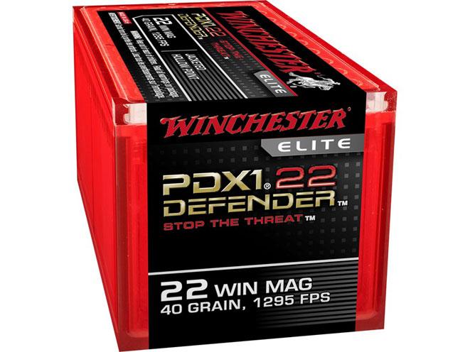 .22 WMR, .22 magnum, .22 WMR load, winchester pdx1 defender