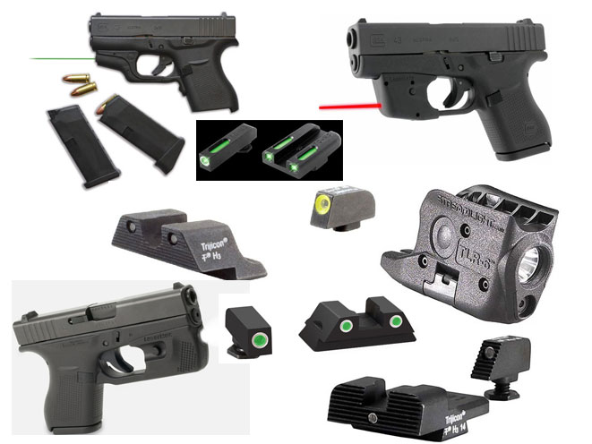 8 Lights Sights And Lasers For The Glock 43