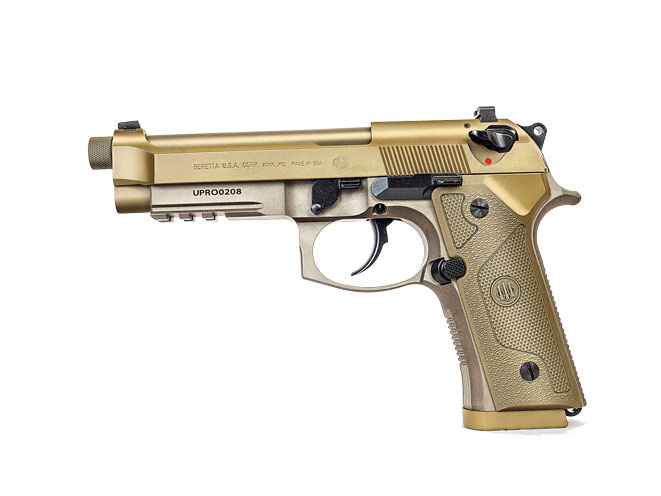 threaded barrel, threaded barrel pistol, threaded barrel pistols, Beretta M9A3