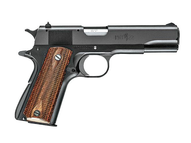 rimfire, rimfires, compact rimfire handguns, compact rimfire handgun, rimfire handgun, rimfire handguns, browning 1911-22 A1