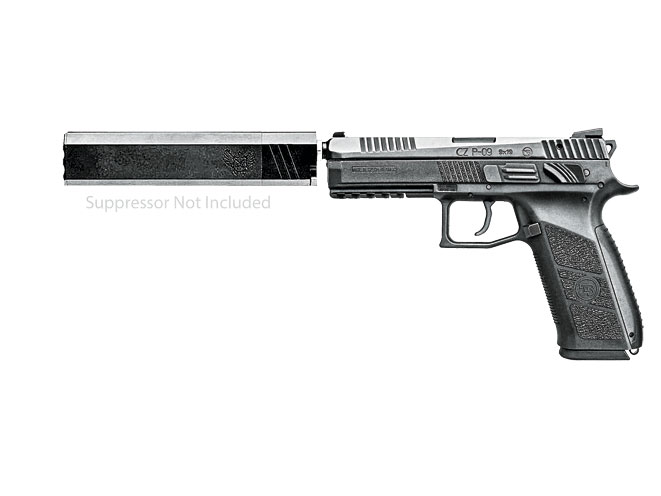 threaded barrel, threaded barrel pistol, threaded barrel pistols, CZ P-09