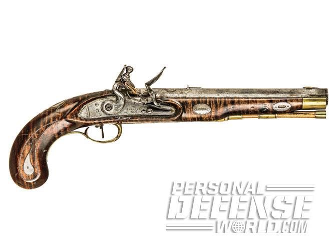 combat handguns, historical handguns, history handguns, history handgun, historical gun, historical guns, historical handgun, Flintlock Pistol