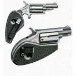 rimfire, rimfires, compact rimfire handguns, compact rimfire handgun, rimfire handgun, rimfire handguns, north american arms llr with holster grips