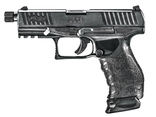 threaded barrel, threaded barrel pistol, threaded barrel pistols, Walther PPQ M2 SD