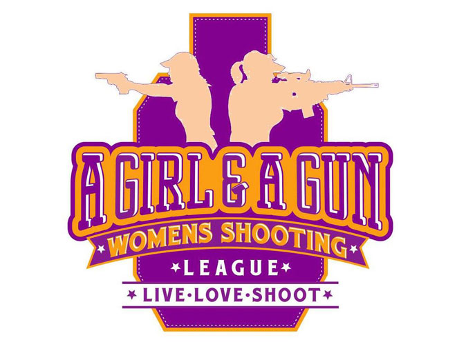 a girl & a gun, a girl and a gun, a girl & a gun women's shooting league