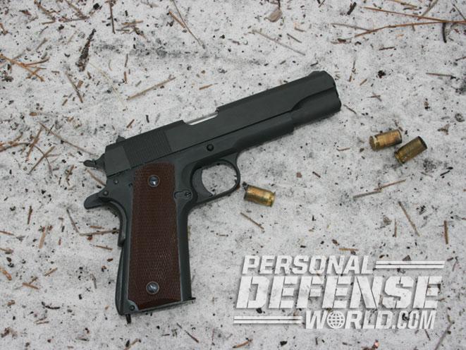 Auto-Ordnance 1911PKZSE, 1911PKZSE, 1911PKZSE pistol, 1911PKZSE ground