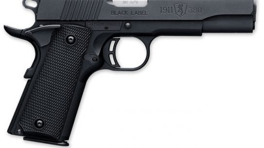 browning, browning black label, browning black label 1911-380, black label 1911-380, browning handgun