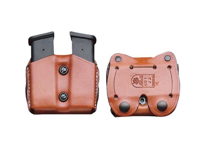 glock 43, glock 43 holsters, glock 43 holster, glock 43 Desantis, DeSantis double magazine pouch