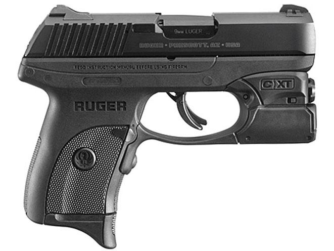 ruger, ruger lc9s, ruger lc9s pro, lc9s pro, ruger lc9s pro crimson xchange, lc9s pro crimson xchange, crimson xchange technology, ruger crimson trace lc9s pro, Ruger LC9s Pro with C-XT Light Attachment