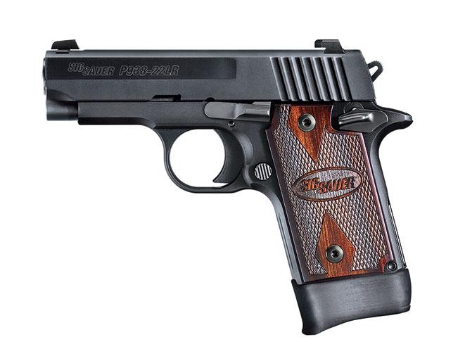 rimfire, rimfires, compact rimfire handguns, compact rimfire handgun, rimfire handgun, rimfire handguns, sig sauer p938