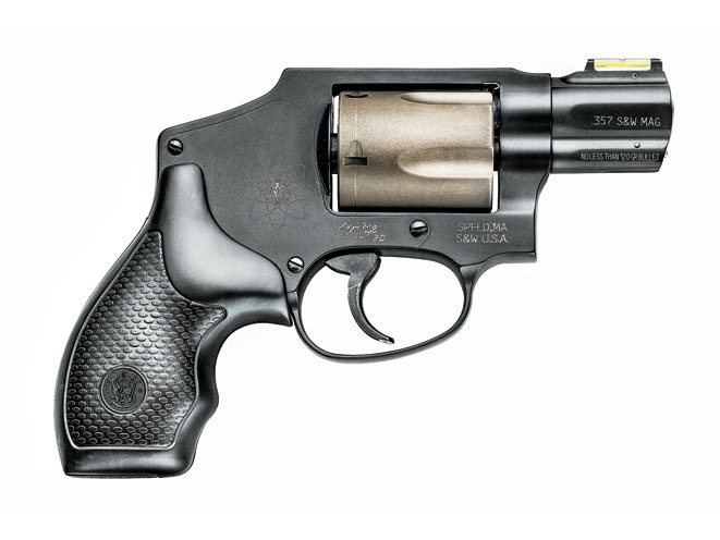 revolver, revolvers, .357 magnum revolver, .357 magnum revolvers, .357, .357 magnum, smith & wesson model 340PD