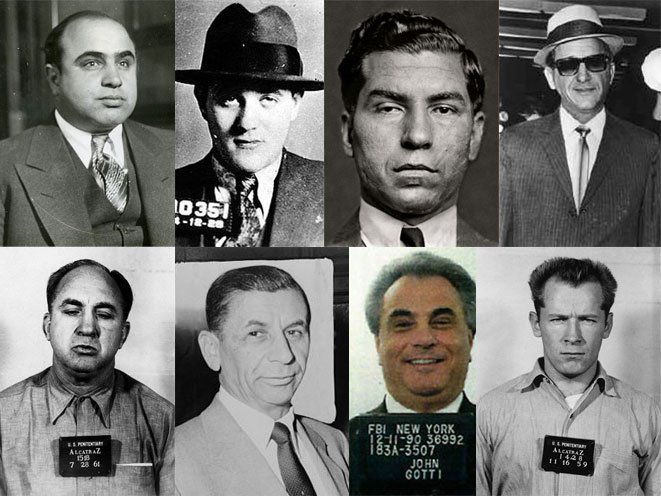8 Most Notorious Mobsters Gangsters Of The 20th Century