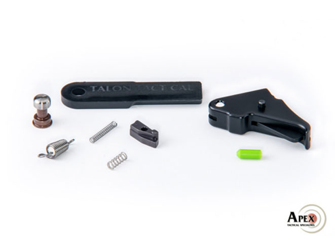 apex, apex tactical specialties, flat-faced trigger, flat-faced trigger apex, flat-faced trigger smith & wesson m&p shield, trigger