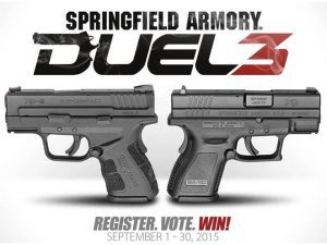 springfield armory, springfield armory duel 3, duel 3 prizes, duel 3 promotion