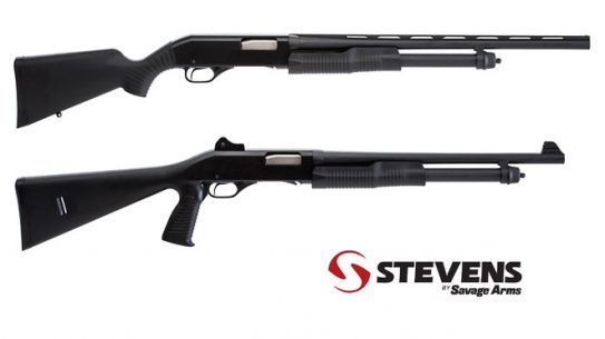 20-Gauge Pump Shotguns, SAVAGE ARMS, SAVAGE ARMS SHOTGUNS, STEVENS SAVAGE ARMS