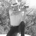 jeff cooper, gunsite, jeff cooper gunsite, jeff cooper gunsite gargantuan gossip, gunsite gargantuan gossip, gunsite gossip, jeff cooper kneeling