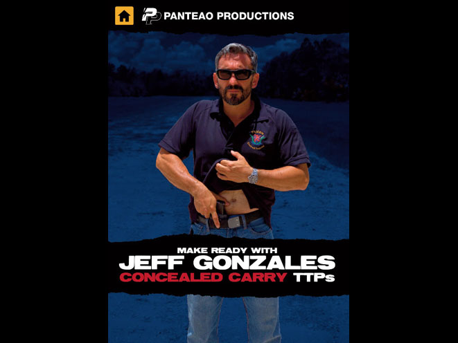 CONCEALED CARRY, JEFF GONZALES, PANTEAO PRODUCTIONS, PANTEAO JEFF GONZALES, PANTEAO CONCEALED CARRY