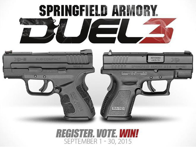springfield, springfield armory, duel 3, duel 3 promotion, duel 3 promo