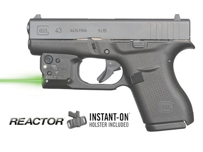 Viridian Unveils Lasers Lights For New Glock 43