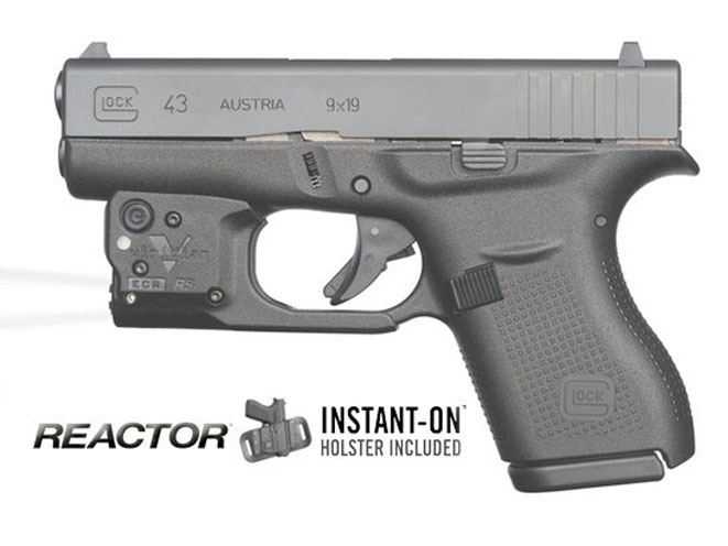 viridian, viridian tactical light, viridian glock 43