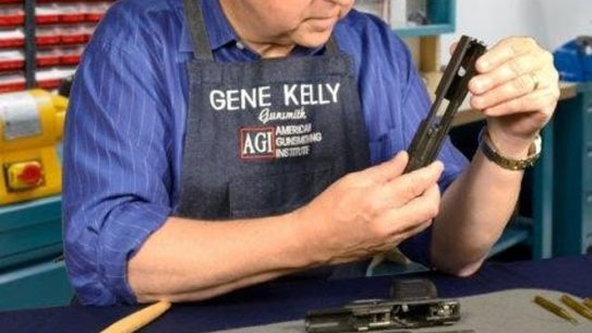 American Gunsmithing Institute, agi, agi American Gunsmithing Institute, gunsmithing, gunsmith, gene kelly agi