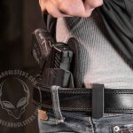 Alien Gear Holsters, ALIEN GEAR, CLOAK TUCK, CLOAK TUCK 3.0, cloak tuck 3.0 worn