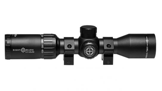 sightmark, sightmark scope, sightmark Core SX Scope, Core SX Scope, Core SX 1.5-4.5x32 Crossbow Scope